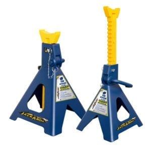 6 Ton Jack Stand, Jackaroo extra safe Pin Lock Jack stand JSLPRJS3T, |Pro Workshop Gear