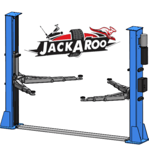 2 Post Hoist Base Plate 5 Ton- electromagnetic locks- -Jackaroo JT500BP-EP | Pro Workshop Gear