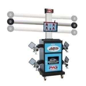 Wheel Alignment Machine,3D Jackaroo JWA7813D-RB,   Pro Workshop Gear