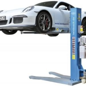 Mobile Car Hoist Single post- 2.5 ton Portable Car Lift, | Pro Workshop Gear