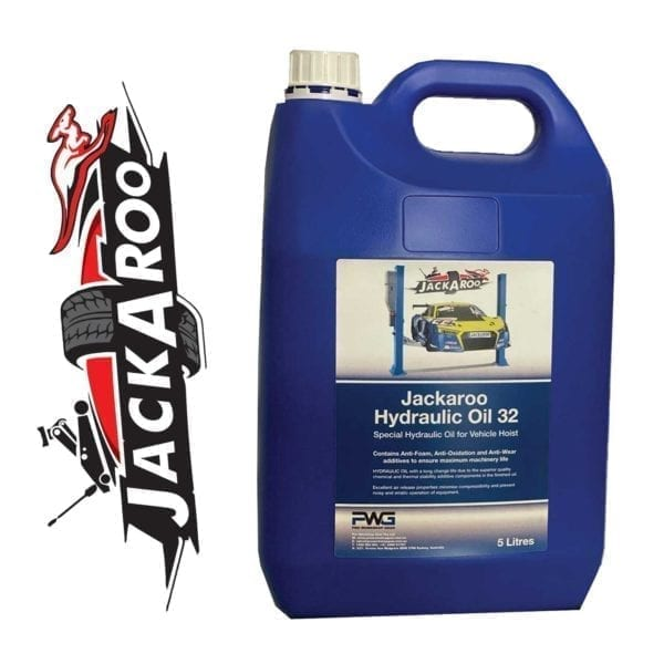 Car Hoist Sp\ecial Hydraulic Oil- 5 Litre Original Jackaroo JHO5L, | Pro Workshop Gear