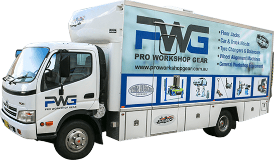 PWG, Pro Workshop Gear, Pro Workshop Gear Truck