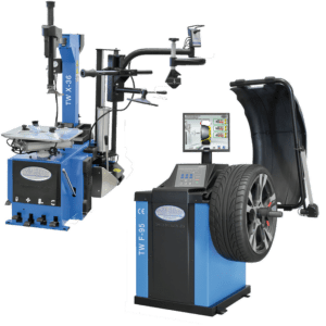 Tyre Changer & Wheel Balancing Machine, |Pro Work Shop Gear