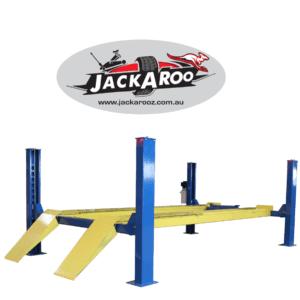4 Post Hoist-6.5 Ton, professional grade-Jackaroo-JFP6.5-Pro, |Pro Workshop Gear