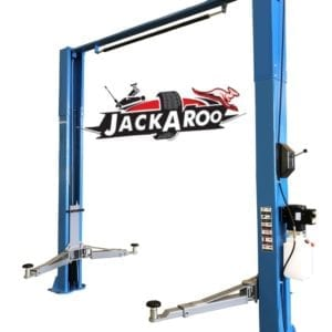 2 post Hoist 4T Clear floor, Manual-Jackaroo JT400CF-M | Pro workshop gear