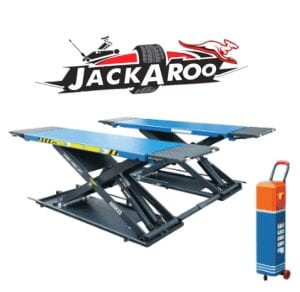 Car Scissor Lift 4 T- professional grade, Jackaroo JSL400-1.2PRO, |Pro Workshop Gear