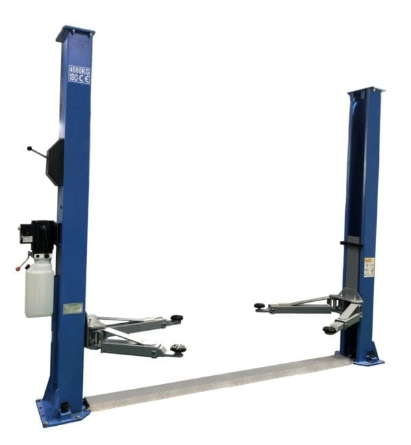 2 post Hoist 4T Base Plate, Good Value-Jackaroo JT400BP-M | Pro Workshop Gear