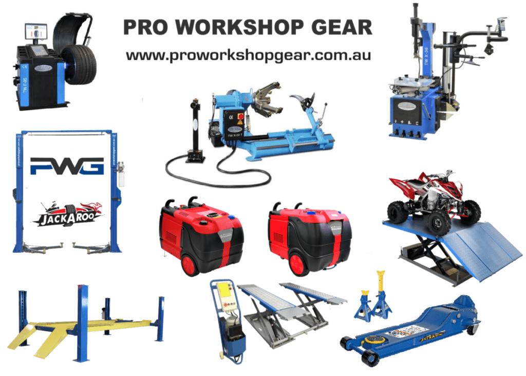 Pro workshop Gear Australia
