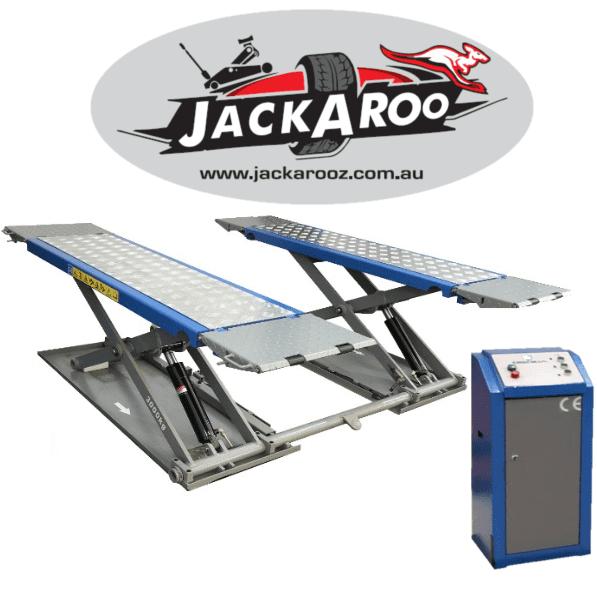 Mid Rise Scissor Lift 3T, Pro Version-Jackaroo, |Pro Workshop Gear